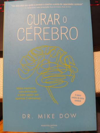 """Livro """"Curar o Cérebro"""""""