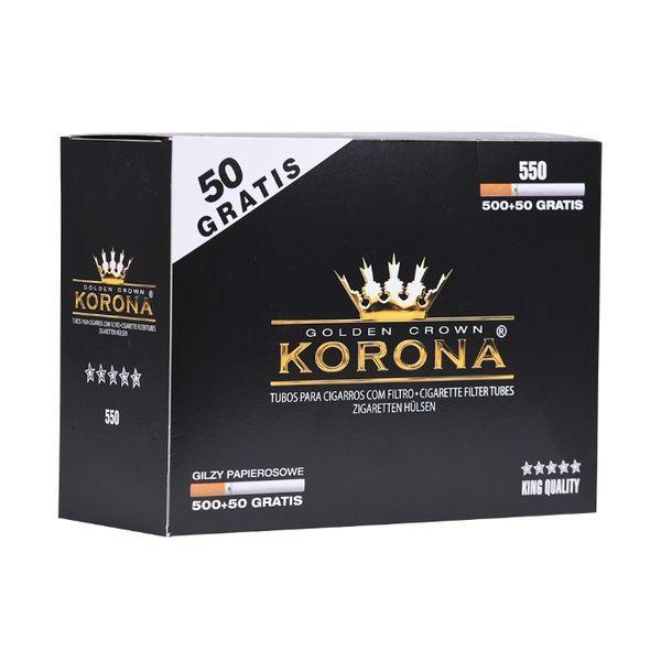 GILZY papierosowe KORONA normal 550 SZT.