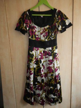 Sukienka MONSOON jak jedwabna S suknia