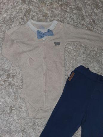 Zestaw 74 Cool club body eleganckie spodnie Bear jak nowe Smyk