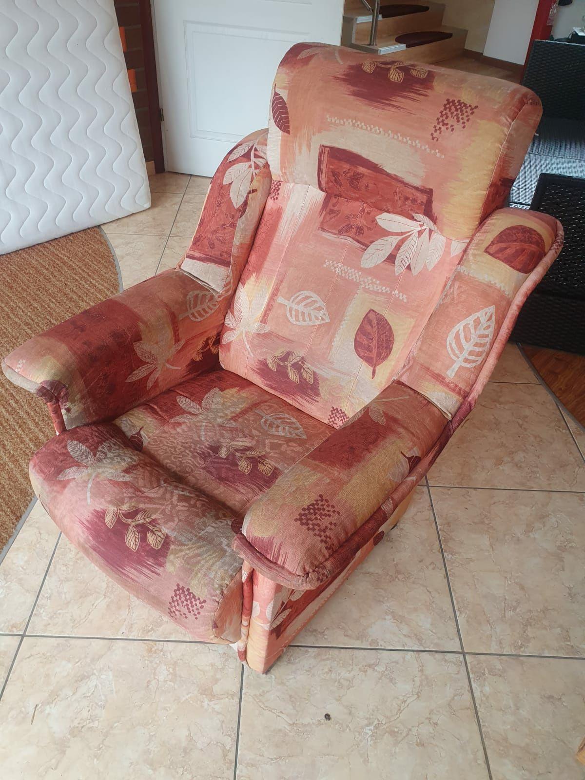 Fotel retro Vintage PRL