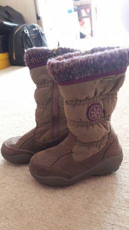 Зимние термо сапожки ботинки Gore tex WaterTex Twisty натуральная кожа