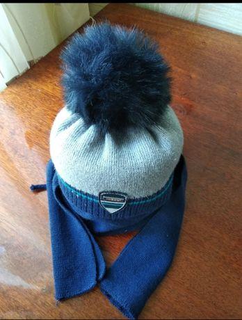 Зимняя шапка+ шарф. Зимняя шапка, шарф