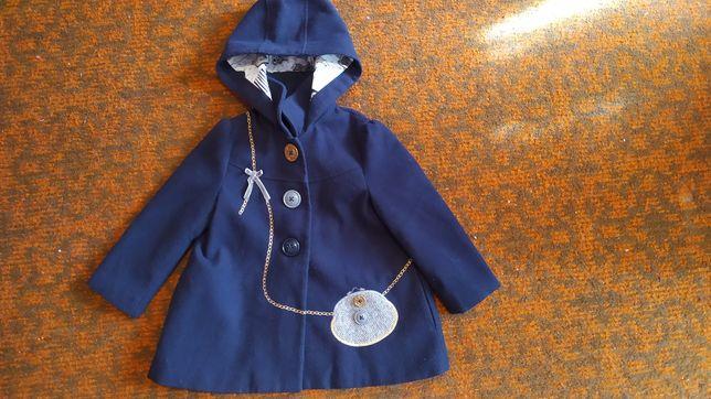 Пальто для девочки 98 см