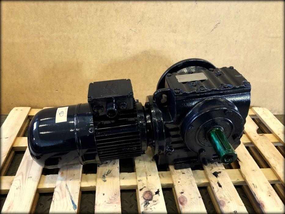 motoreduktor / przekładnia 1,2/0,7kW 14,8/7,4obr. SEW Pigża - image 1