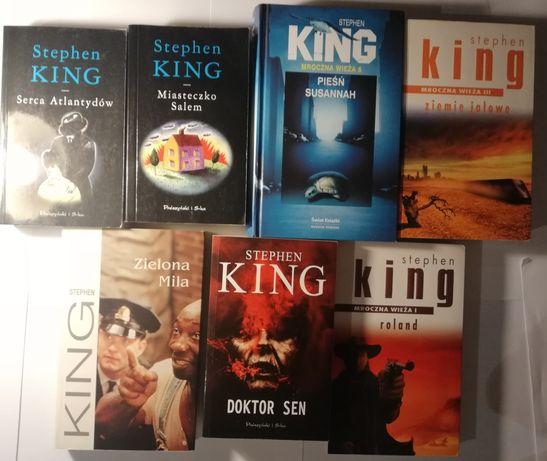Stephen King, komplet. Prywatna kolekcja.