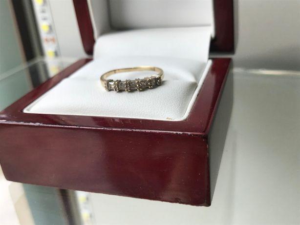 używany złoty pierścionek 585 1,48g r13
