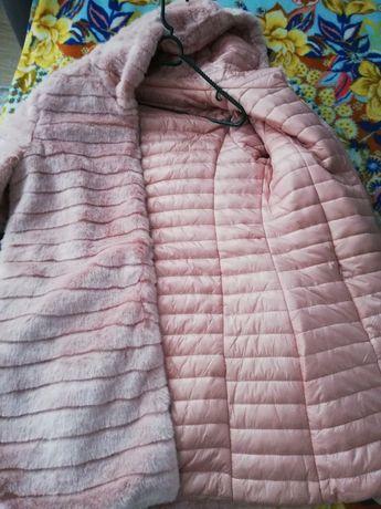 Продам двохсторонню шубку- куртку нову з закордону не підійшов розмір.
