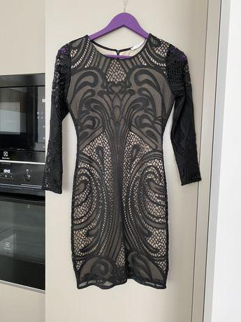 Платье кружевное Mango xs-s zara oasis hm