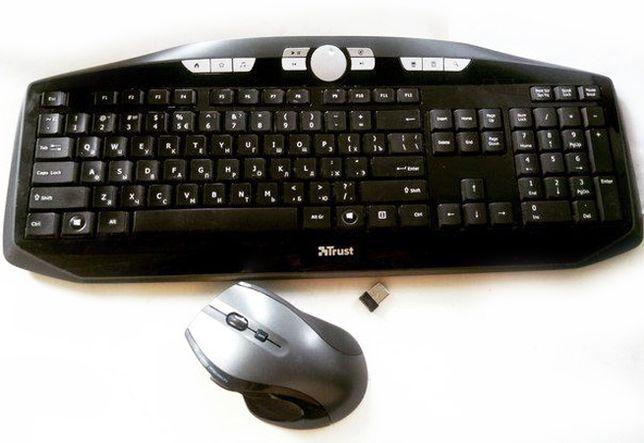 Беспроводная клавиатура набор Trust MaxTrack Wireless