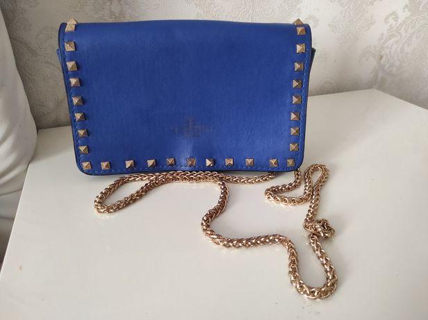 Valentino Gucci сумочка клатч Синяя