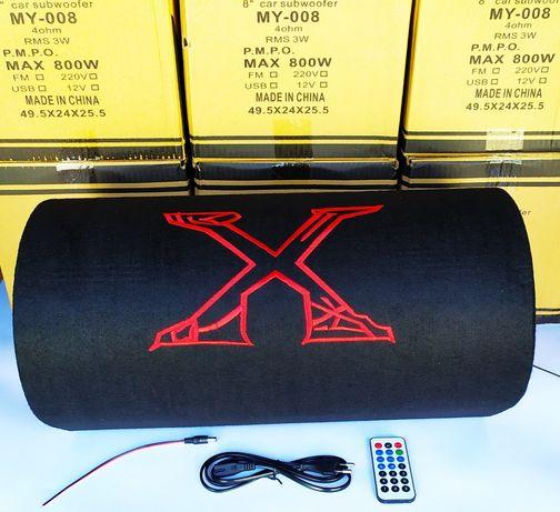 """8"""" Активный сабвуфер бочка Xplod c Bluetooth 800W + пультом"""