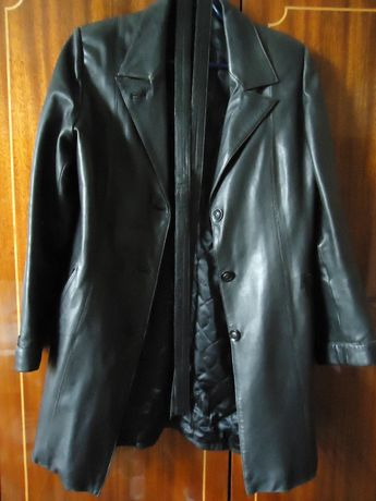 Кожанная куртка женская Шкіряна жіноча куртка