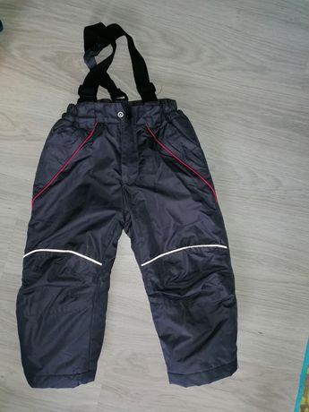 Spodnie zimowe, szelki