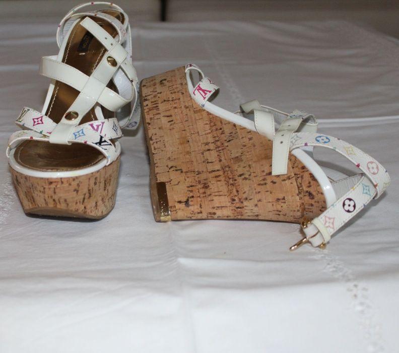 Sandálias Louis Vuitton Almada, Cova Da Piedade, Pragal E Cacilhas - imagem 1