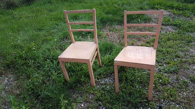 2 stare krzesła za 30 zł sumarycznie