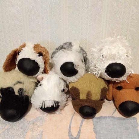 Собака собачка мягкая игрушка 8см