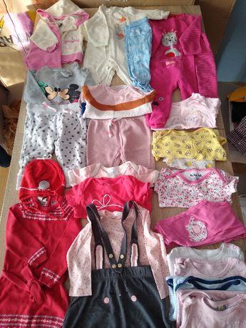 Zestaw ubrań dla dziewczynki roz. 74 paka nr. 3