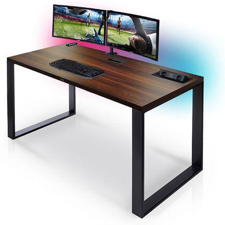 Biurko LED dla ucznia dla gracza do biura GAMINGOWE komputerowe MODERN