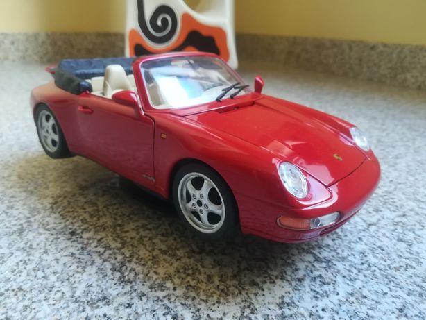 Carro miniatura coleção Porsche 911 burago