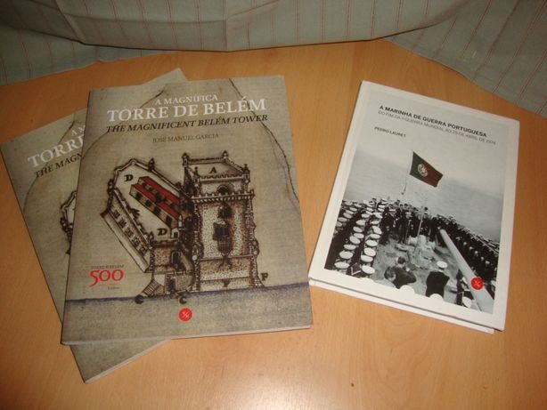 Livro Torre de Belém e Marinha de Guerra Portuguesa