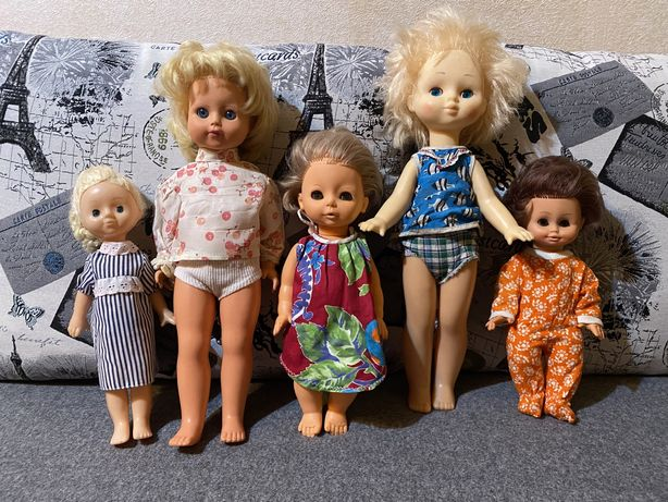Куклы ГДР и СССР цена за всех кукол