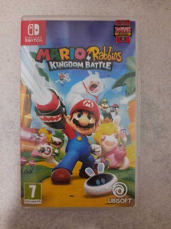 Nintendo switch gry mario itp zadbane jak nowe