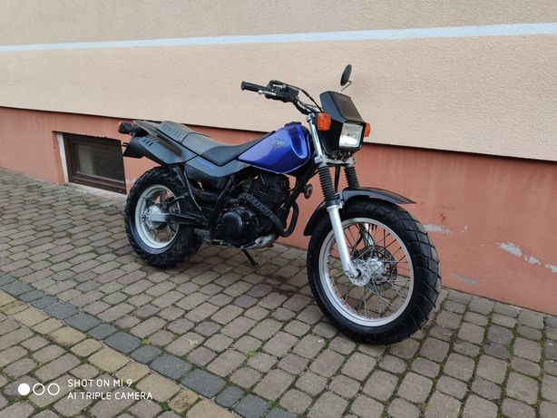 Yamaha tw 125 enduro van van niemcy serwis