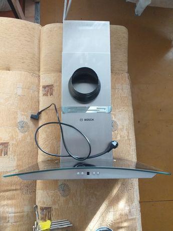 Okap Naścienny 60 Cm Bosch DWA06E651/01 Stan BDB Jak Nowy