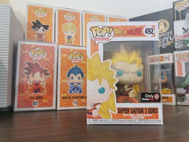 Funko pop dragon ball Goku SSJ3
