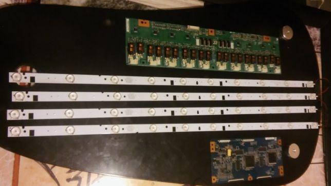 """Samsung LCD 37"""" T-con Inwerter Listwy LED podświetlenie"""