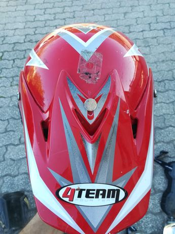 Capacete 4team XL motocross enduro quad
