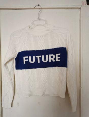Kremowy sweter 34