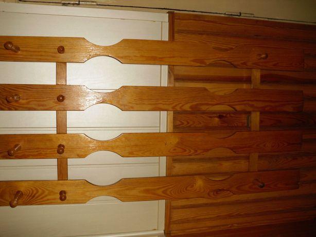 Wieszak do przedpokoju, korytarza, altany-drewno sosnowe.