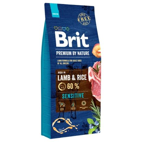 Karma Brit Premium By Nature Sensitive Lamb- jagnięcina z ryżem- 15KG