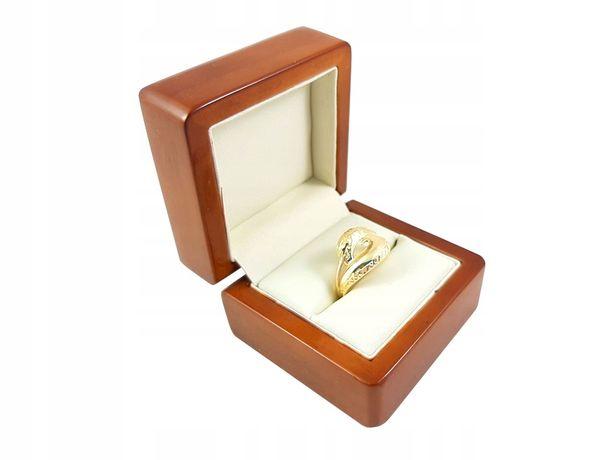Złoty Pierścionek Pr: 585 Waga: 2,91g