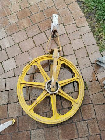 Koło na budowę do wciągania wiaderek