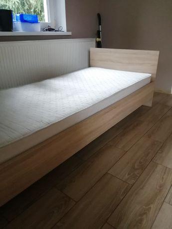 Łóżko jednoosobowe Dąb Samoa.