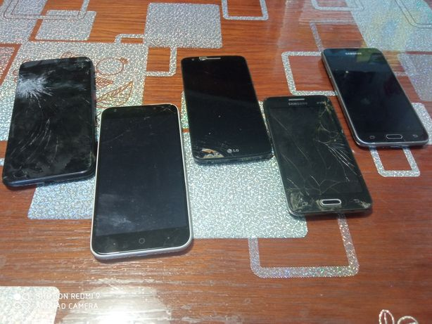 Телефоны ZTE, LG