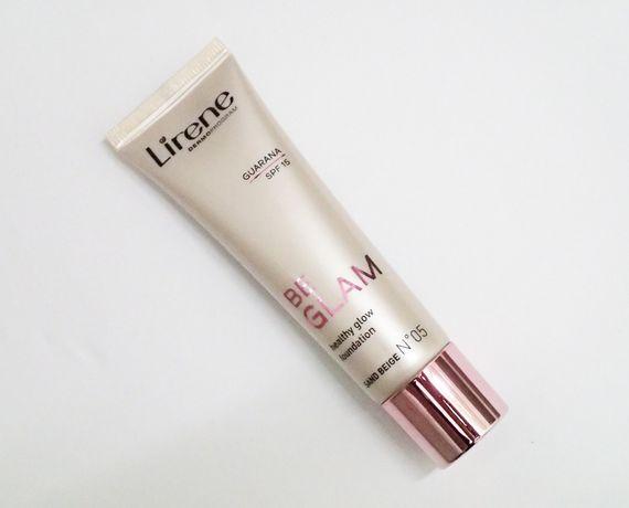 Rozświetlający podkład fluid Be Glam Lirene, sand beige no 05