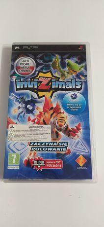 PSP gra Invizimals wydanie polskie.