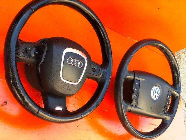 Руль Подушка безопасности руля AirBag Volkswagen Touareg Audi Q7