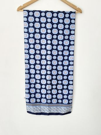 Лёгкий шёлковый шарф Street One в мелкий цветочек