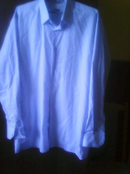 błękitna koszula męska Błędów - image 1
