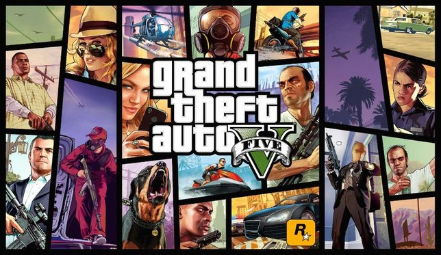 Grand Theft Auto V (GTA 5, GTA V) Premium Online Edition.