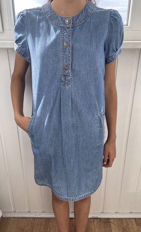 Джинсовое платье Benetton.Jeans