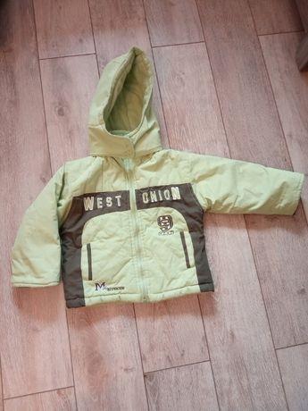 Zimowa kurtka dla chłopca roz 86