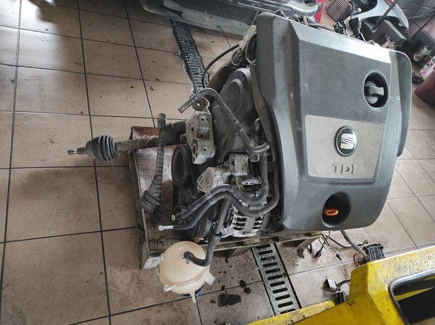 Silnik 1.9TDI AXR Seat Leon VW Golf Skoda Aud kompletny niski przebieg