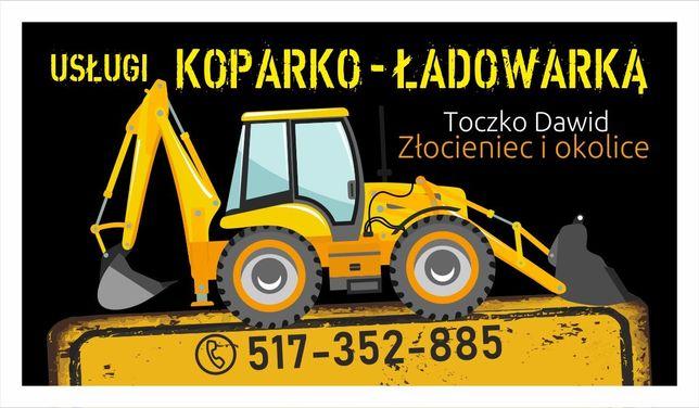 Usługi Koparko-Ładowarką New Holland 115b