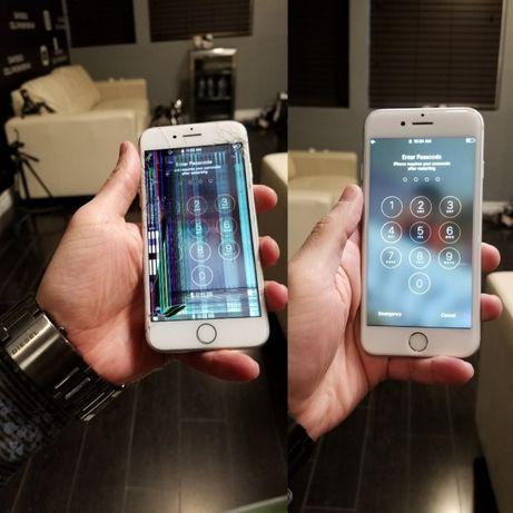Iphone 7, 7+, 8, 8+ wyświetlacz ekran szybka wymiana TanieEkrany.pl